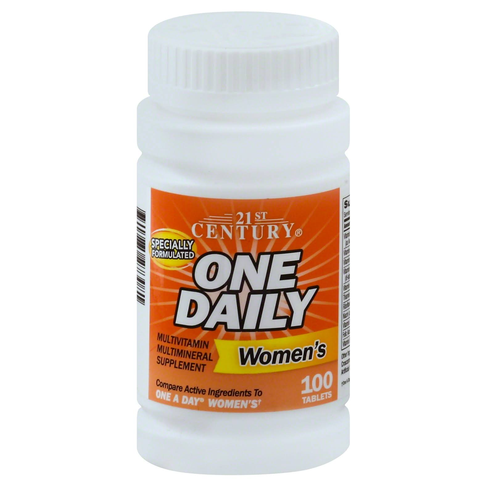 21st Century One Daily Women's Tablets - 100ct