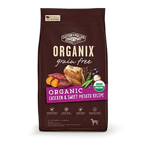 Castor & Pollux Organix Grain Free Organic Dog Food Recipe - Chicken & Sweet Potato, 10lbs
