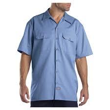 dickies men u0027s short sleeve work shirt 1574