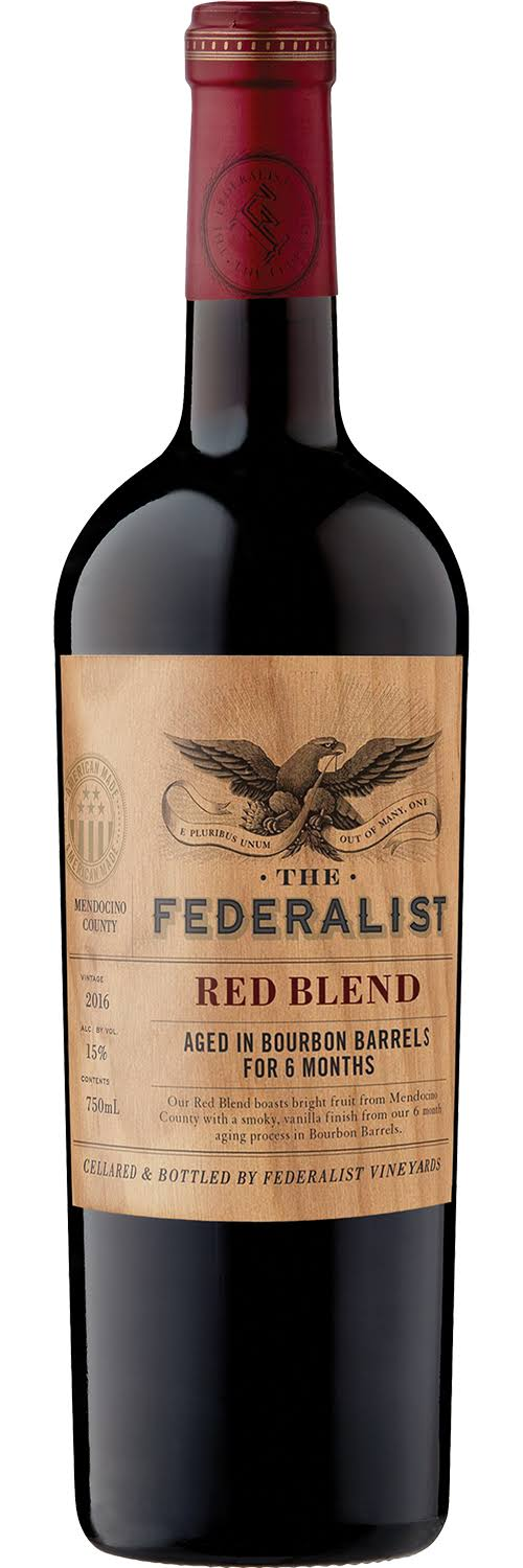Federalist Red Blend, Mendocino County, Vintage 2016 - 750 ml