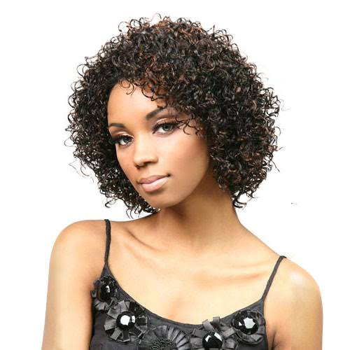 Motown Tress FXLB-206 Half Wig Synthetic - 1B