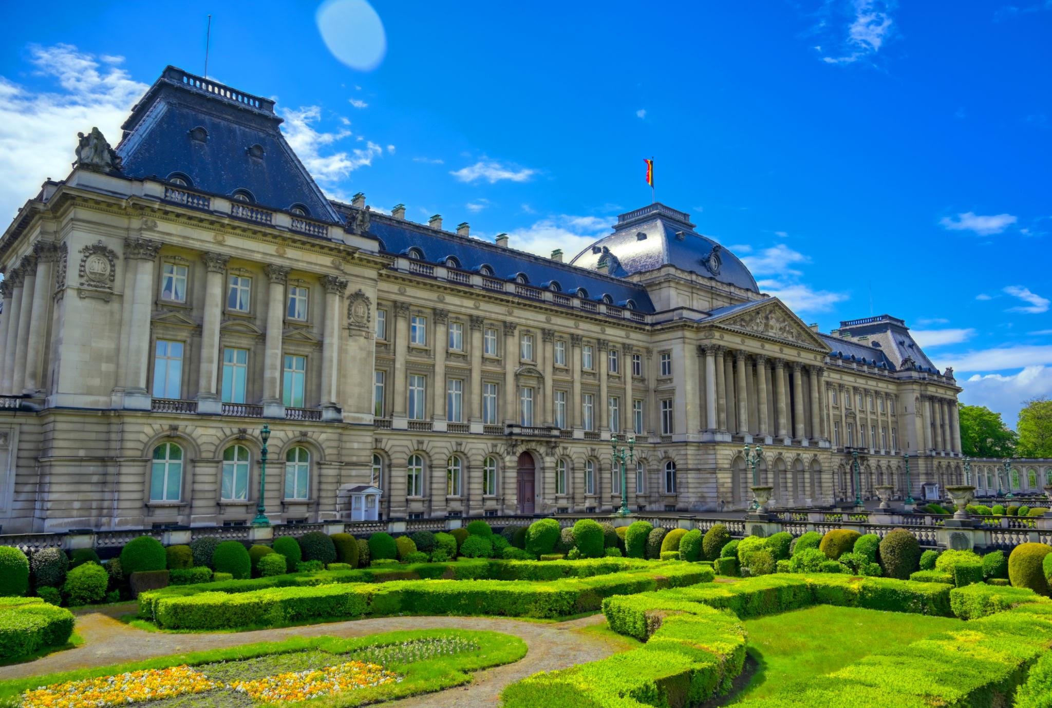 السياحة في بروكسل القصر الملكي