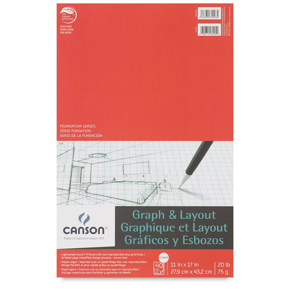 Canson Graph and Layout Pad