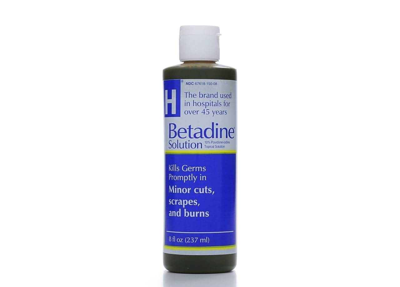 Betadine Antiseptic Solution - 8oz
