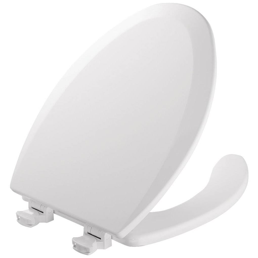 Mayfair Commercial Open Front Toilet Seat - with Cover