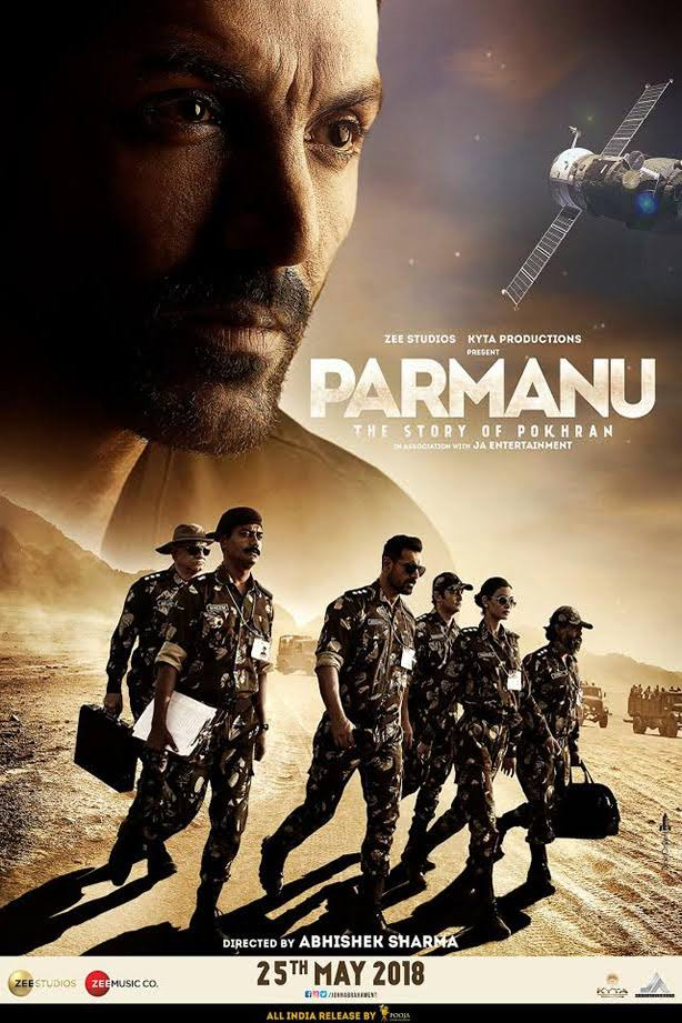 Parmanu 2018 Full Movie Download HD DVDScr 300MB And 700MB
