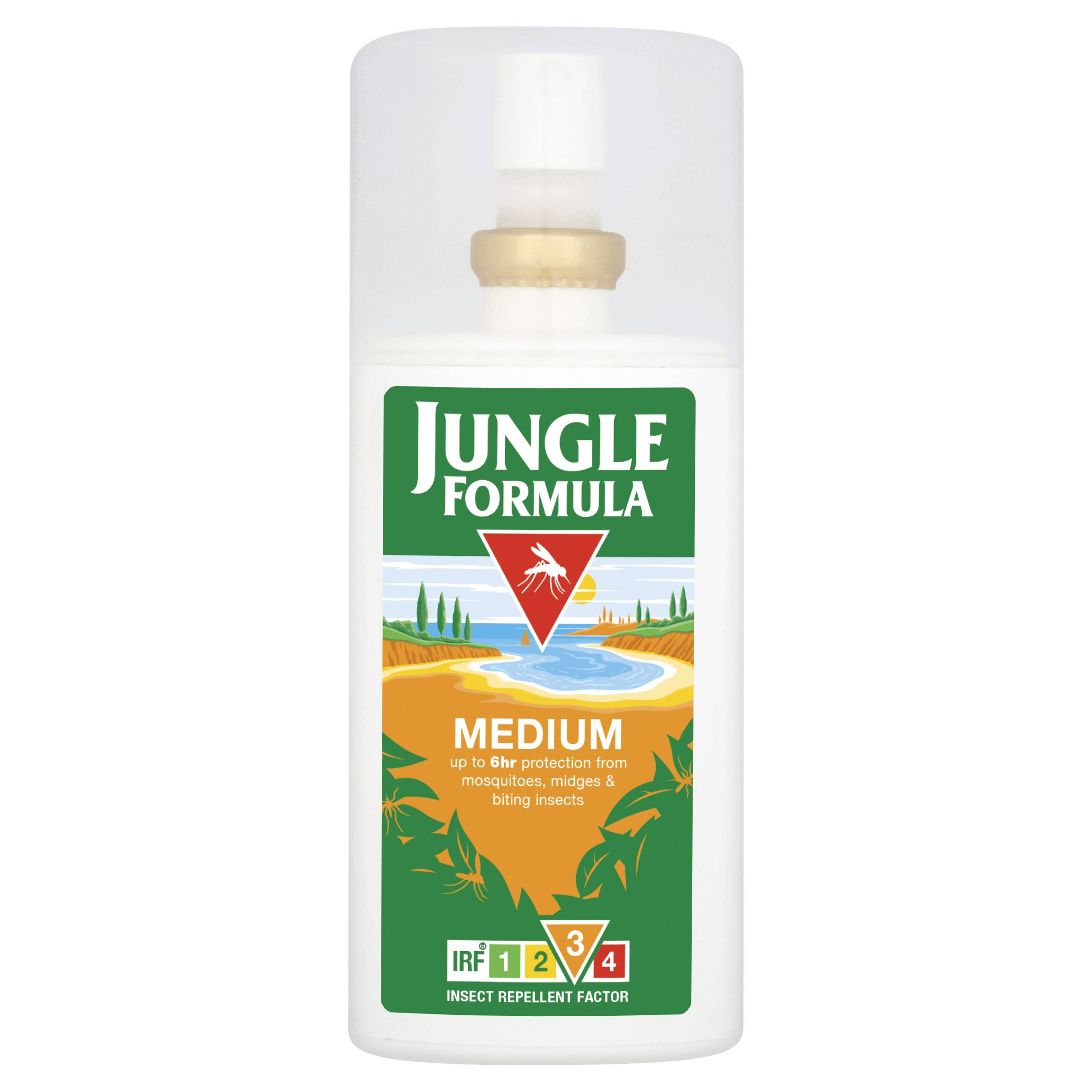 Jungle Formula Medium Insect Repellent Pump Spray - 90ml