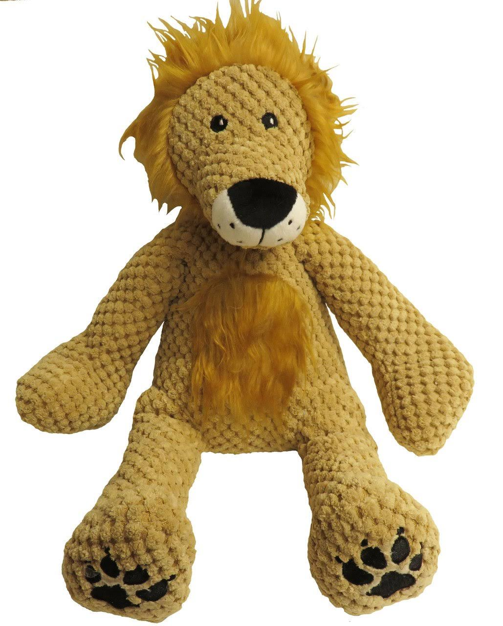Fab Dog Floppy Lion Plush Dog Toy Small