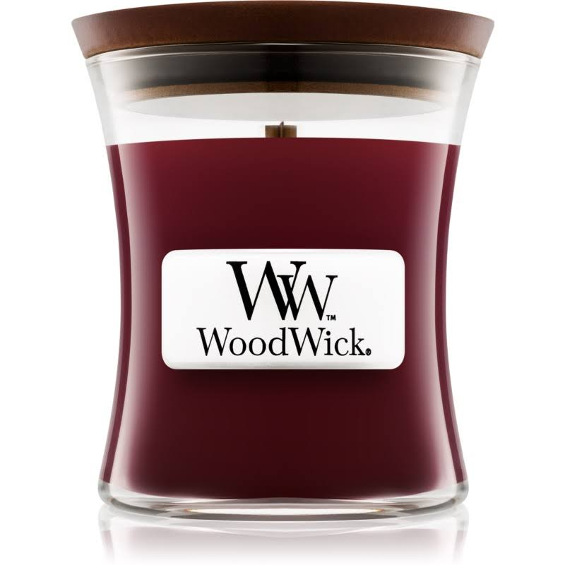 Woodwick Mini Candle - Black Cherry