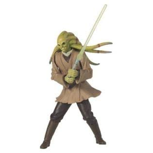 Hasbro Star Wars Attack of The Clones Action Figure - Kit Fisto Jedi Master