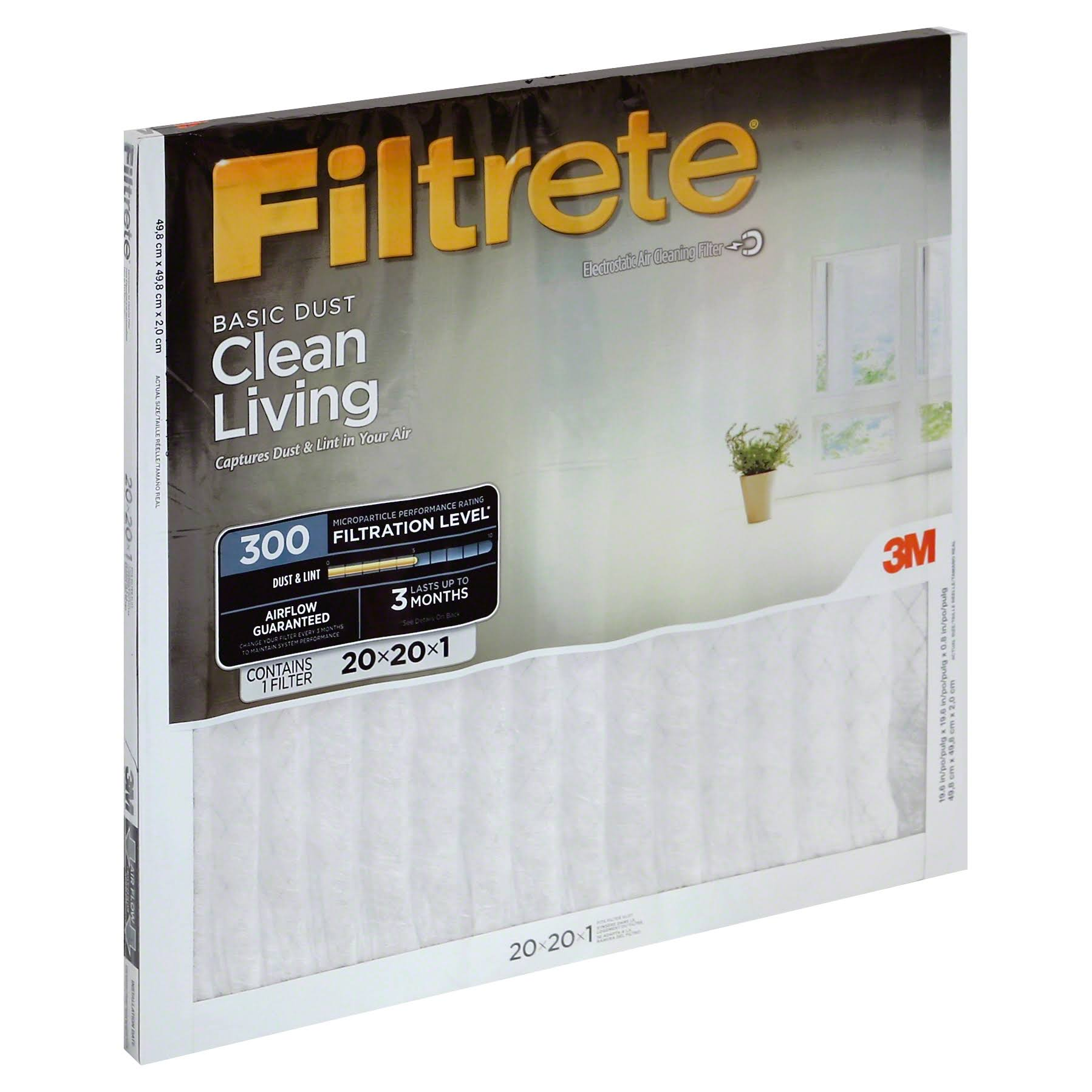 3m Filtrete Dust Reduction Filters