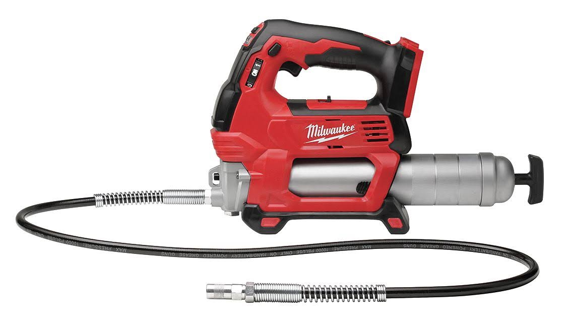 Milwaukee M18 Lithium-Ion Cordless Grease Gun - 18V