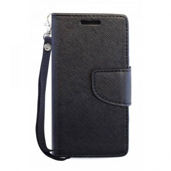 Coolpad Defiant (3632) Two-Tone Wallet-Black/Black, Women's