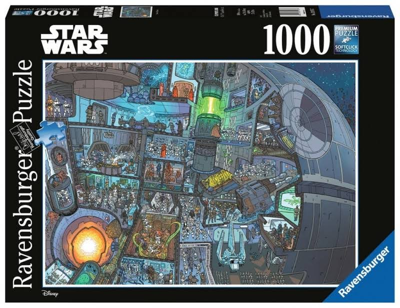 Ravensburger 13976 Star Wars Where's Wookie Jigsaw Puzzle - 1000pcs