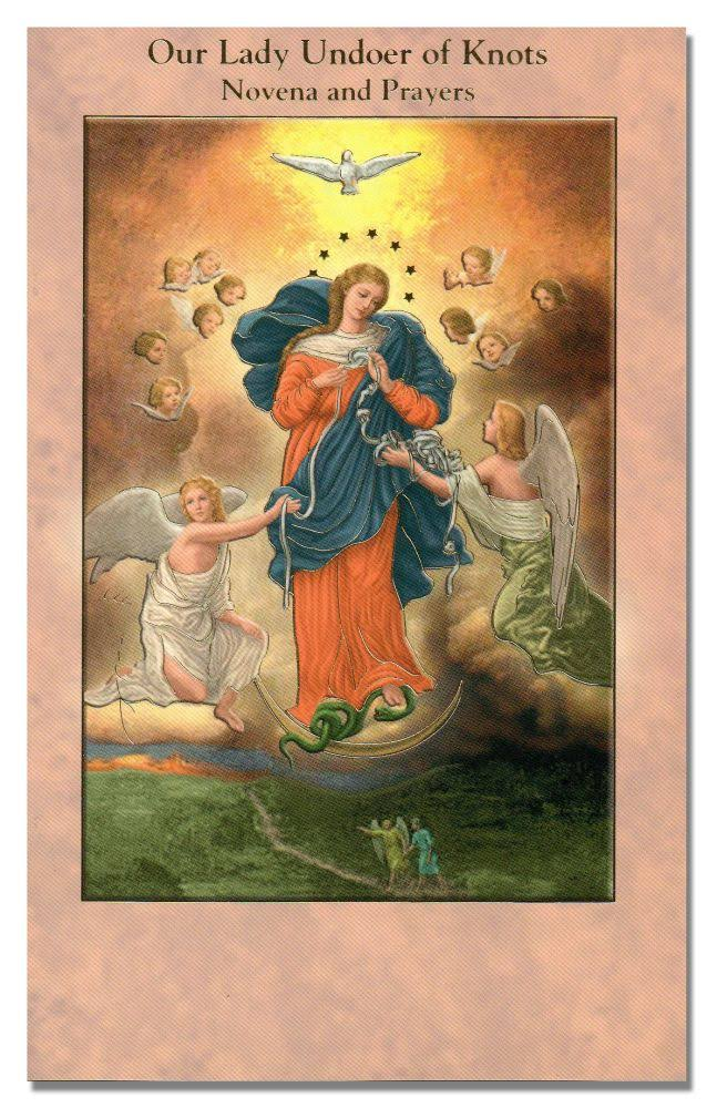 Our Lady Undoer of Knots Novena and Prayers - W.H. Litho Company