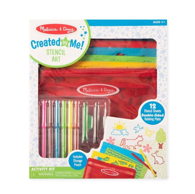Melissa & Doug - Created by Me! Stencil Art Activity Kit