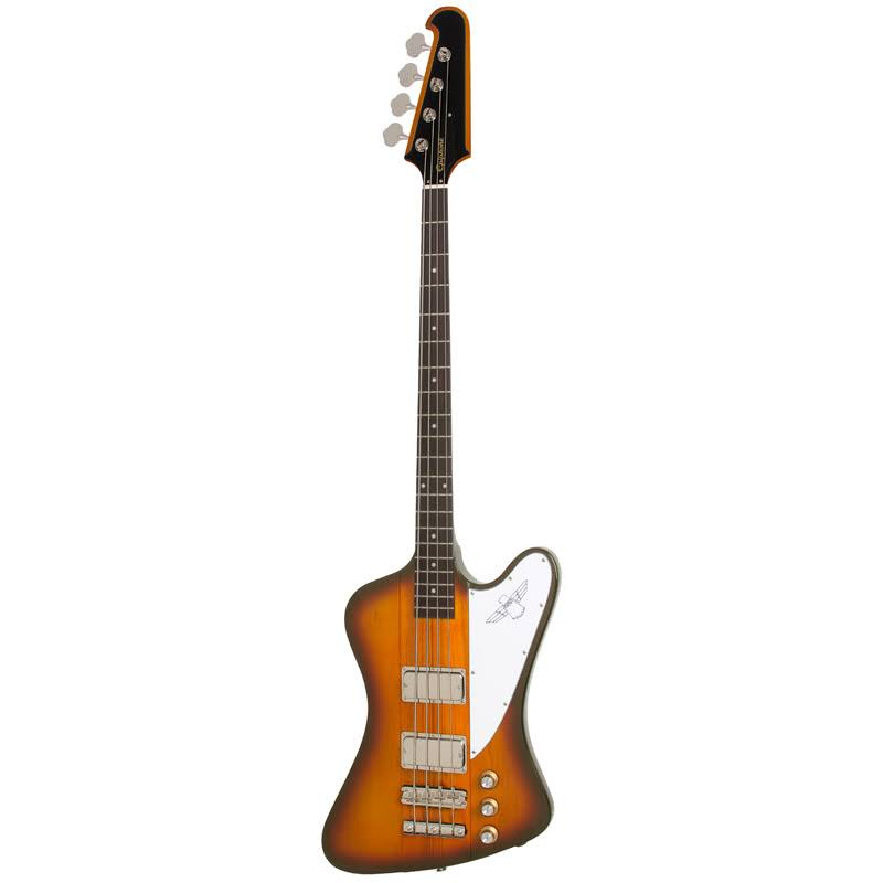 Epiphone EBTVTSNH1 Thunderbird Vintage Pro Sunburst Bass Guitar - Right Hand