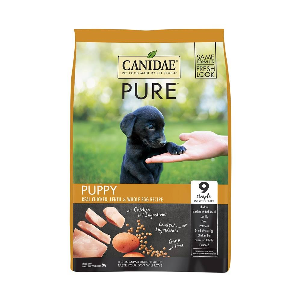 Canidae Grain Free Pure Foundations Puppy Food - Chicken, 12 lbs