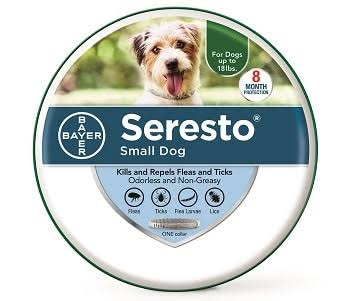 Seresto Flea and Tick Collar for Dogs - Small, Under 18lb