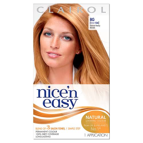 Clairol Nice & Easy Permanent Hair Colour - 8G Natural Honey Blonde