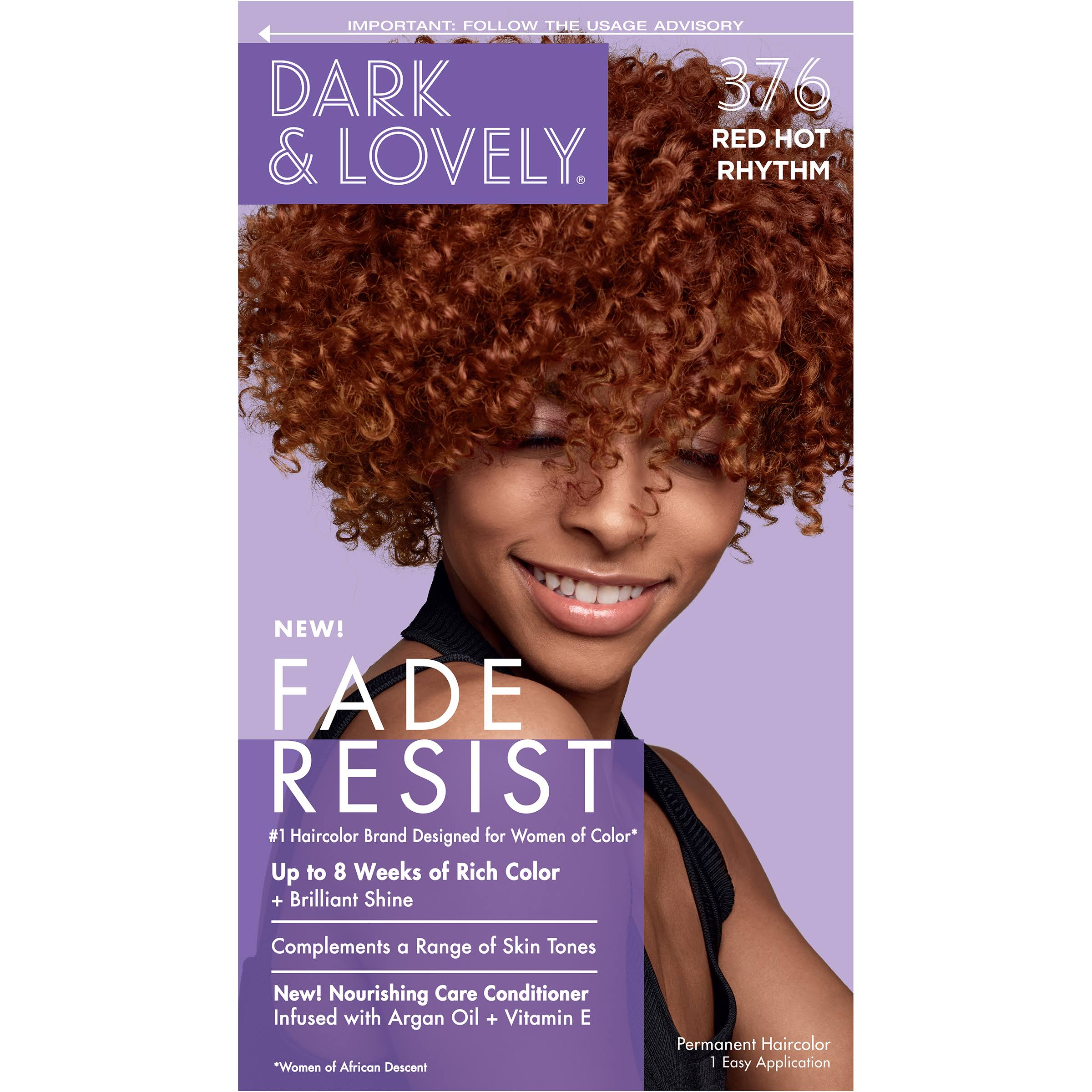 SoftSheen-Carson Dark and Lovely Hair Color - 376 Red Hot Rhythm