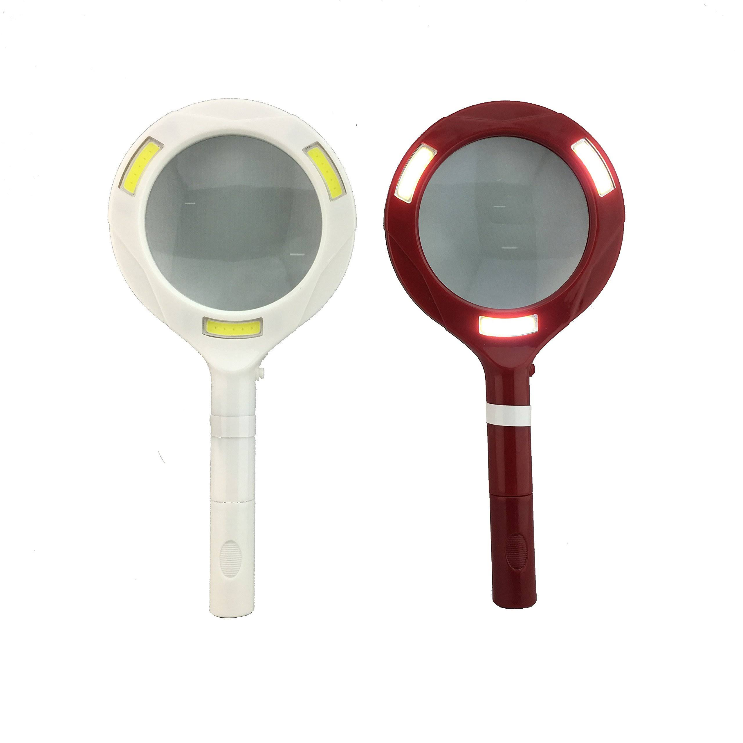 Blazing Ledz 702708 COB LED Magnifying Glass with Lights