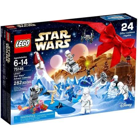 Lego Star Wars 75146 Advent Calendar Building Kit - 282 Pieces