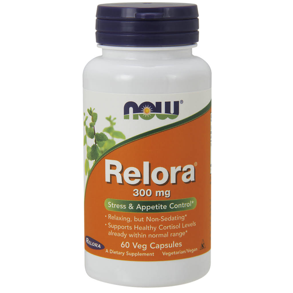 NOW Foods Relora - 300mg, 60 Veg Capsules