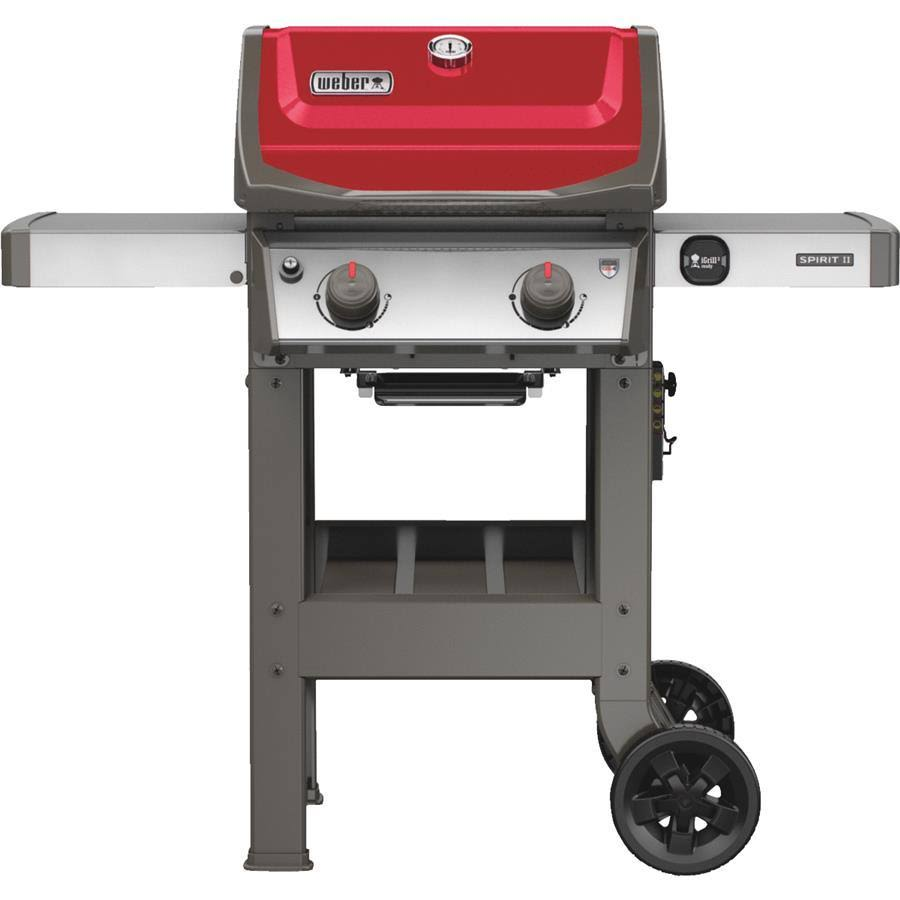 Weber Spirit II E-210 Gas Grill Red