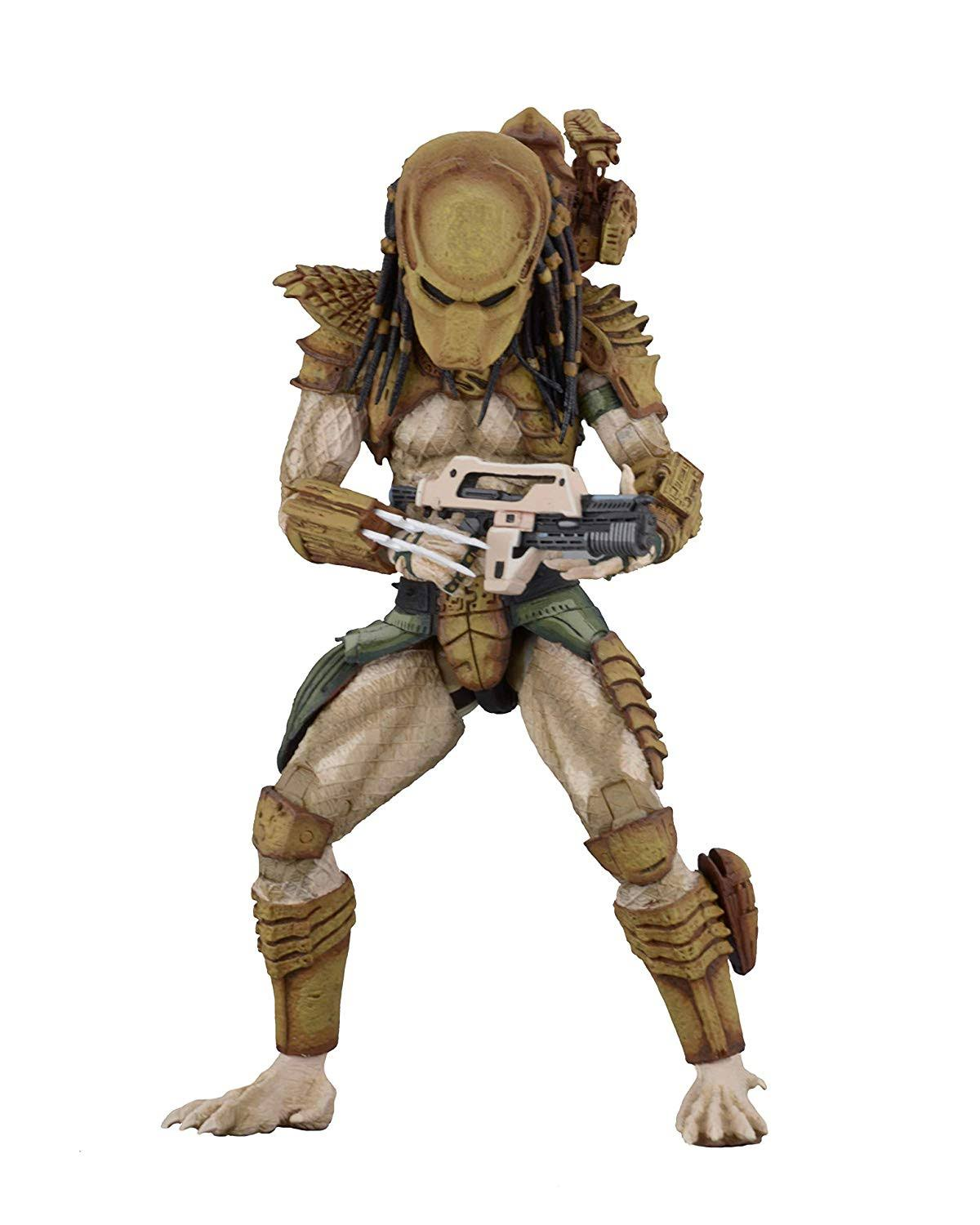 Neca Aliens Vs Predator Hunter Predator Action Figure - 7""