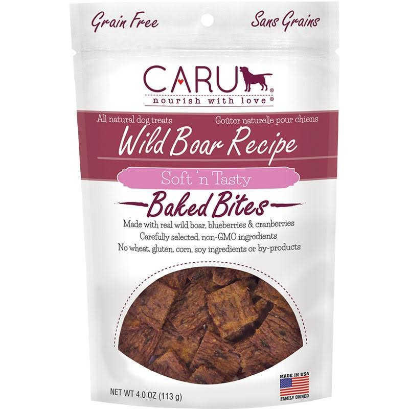 Caru Soft N Tasty Wild Boar Recipe Baked Dog­ Treats - 110ml