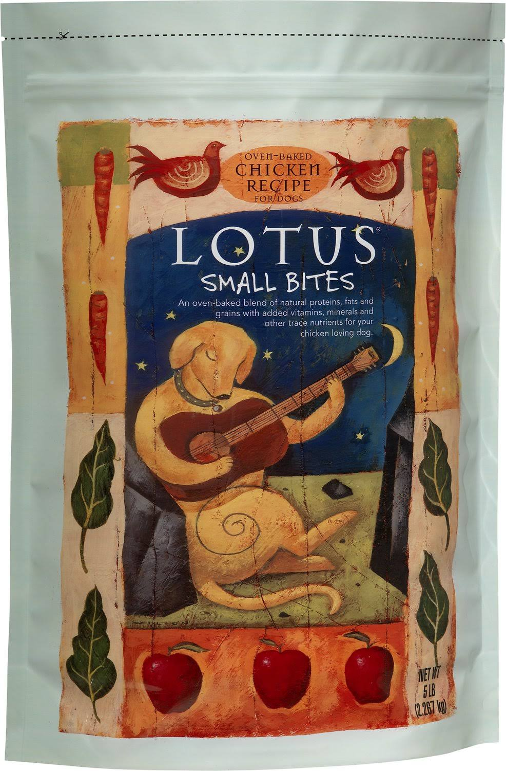 Lotus Small Bite Dry Dog Food Chicken 5 lb.