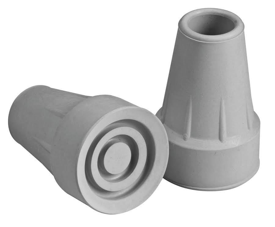 Apex FGA716000000 Standard Crutch Tips - Grey