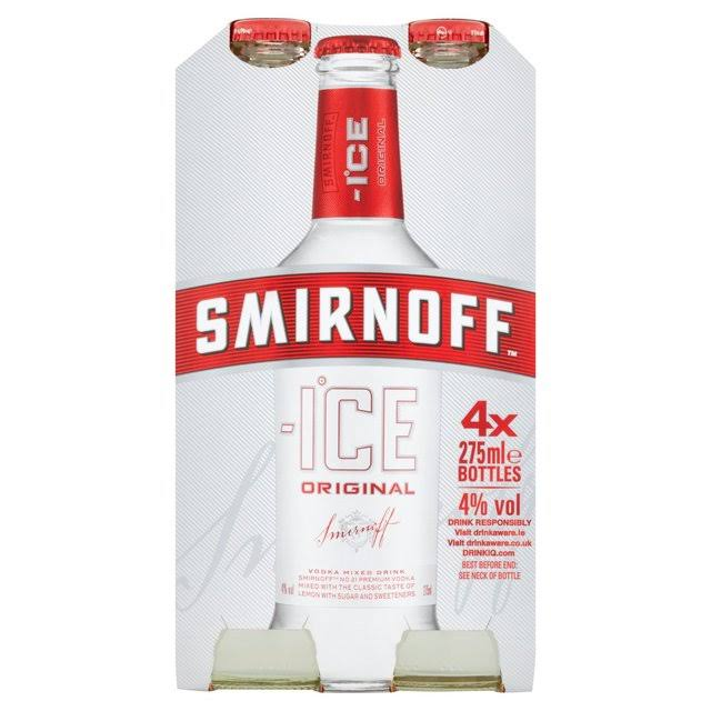 Smirnoff Ice - Original, 4 x 275ml