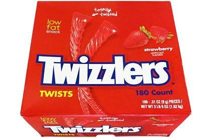Twizzlers Strawberry Twists Candy - 180ct