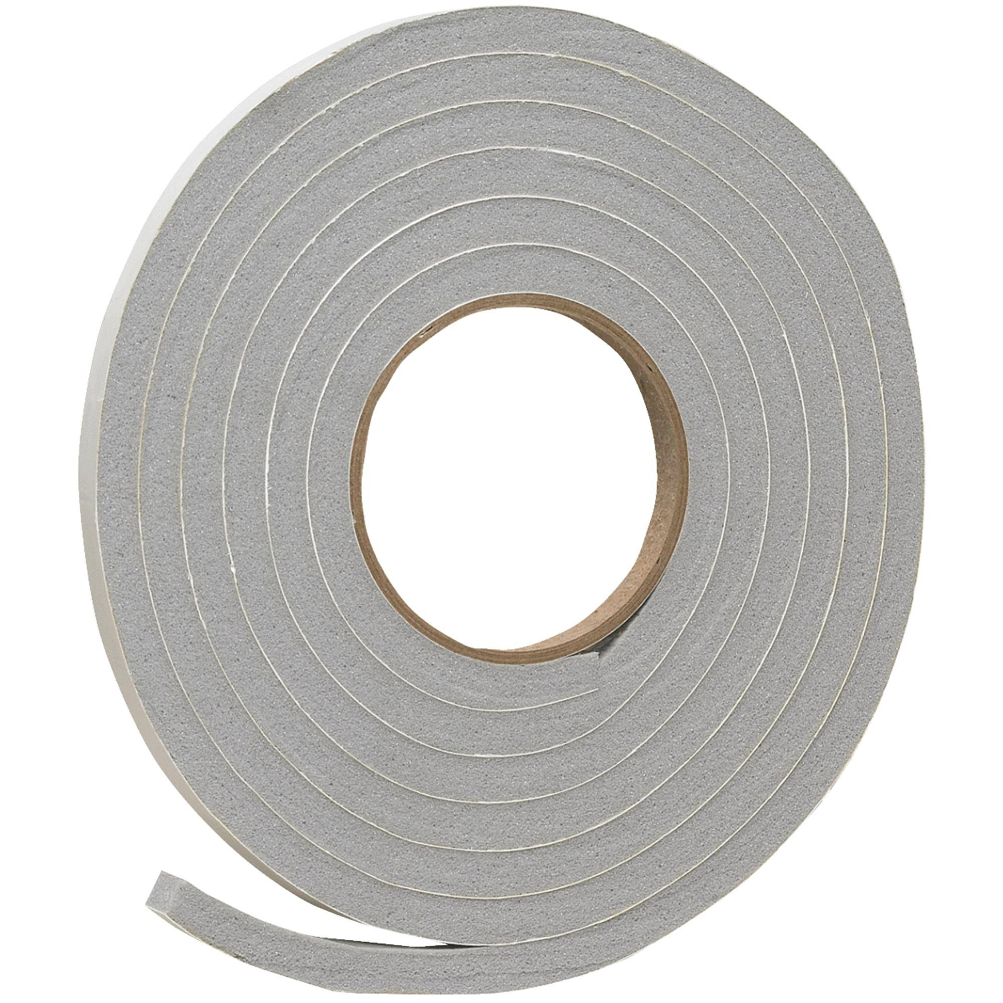 Thermwell V445hdi Do It PVC Closed Cell Vinyl Foam Weatherstrip Tape - Gray