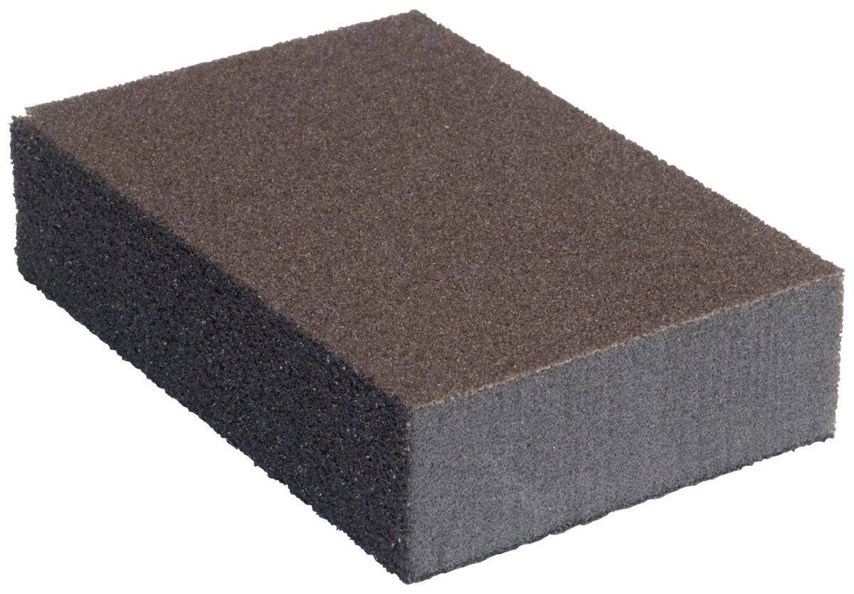 Norton 2081 Small Area Sanding Sponge - Pack of 6, Fine Medium Grit