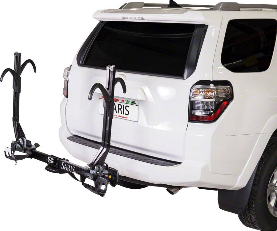 Saris Superclamp 4025F 2 Bike Universal Hitch Mount Rack - Black