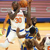 Warriors' Draymond Green ejected vs. Knicks after odd second ...