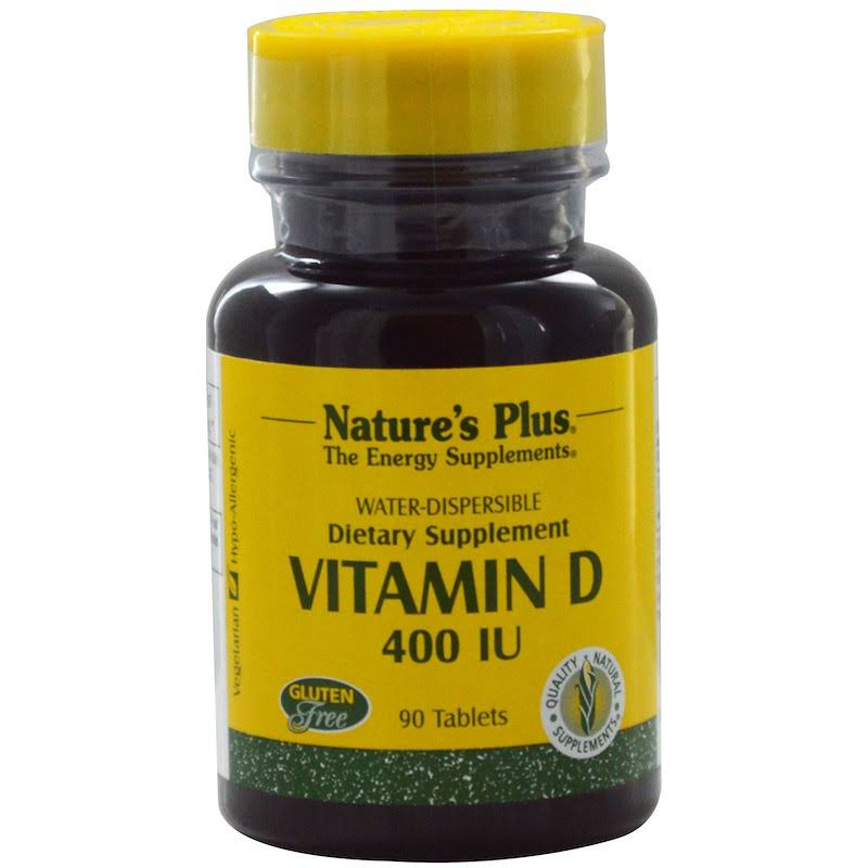 Nature's Plus Vitamin D 400 IU - 90 Tablets