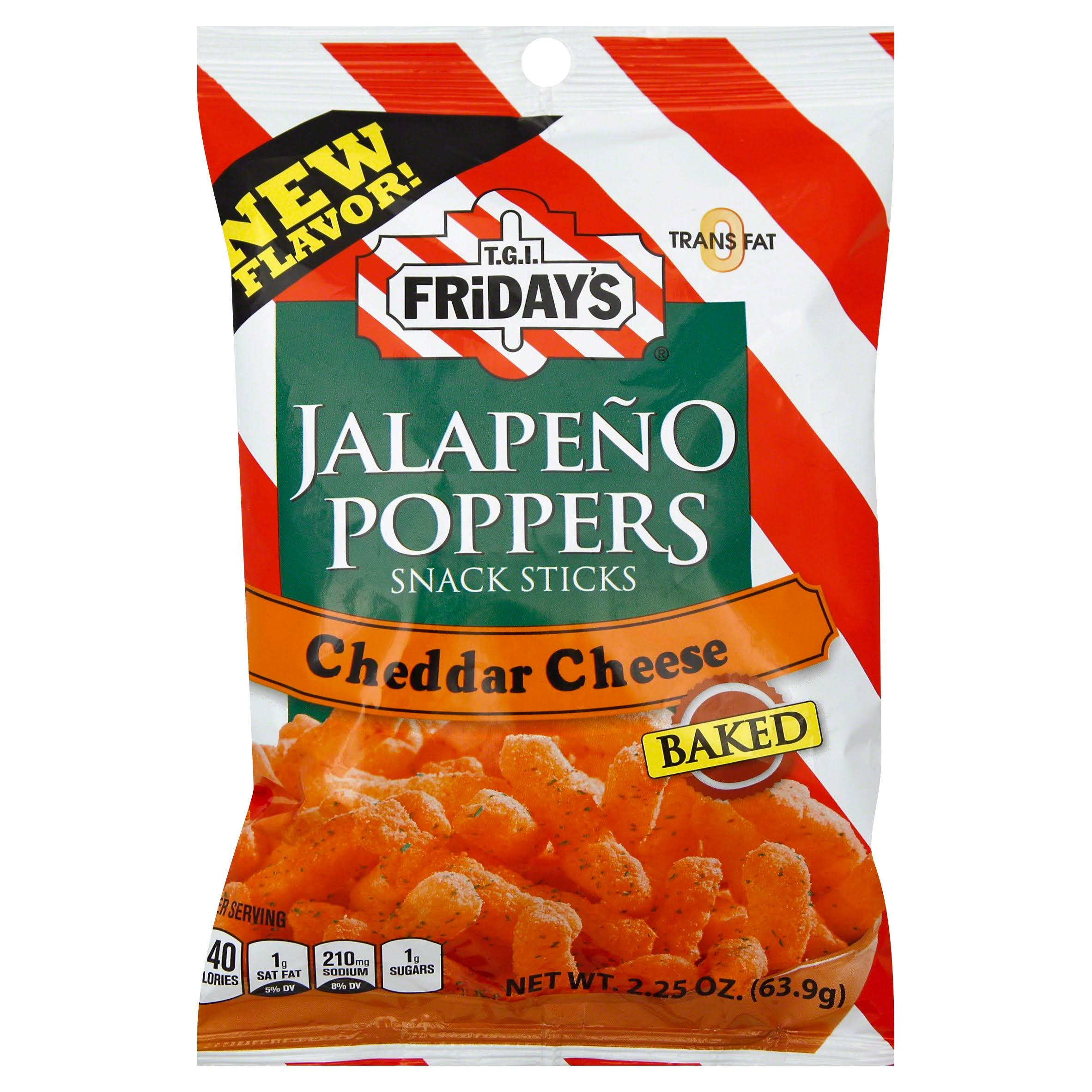 Tgi Friday Jalapeno Popper Sticks - Cheddar Cheese, 2.25oz