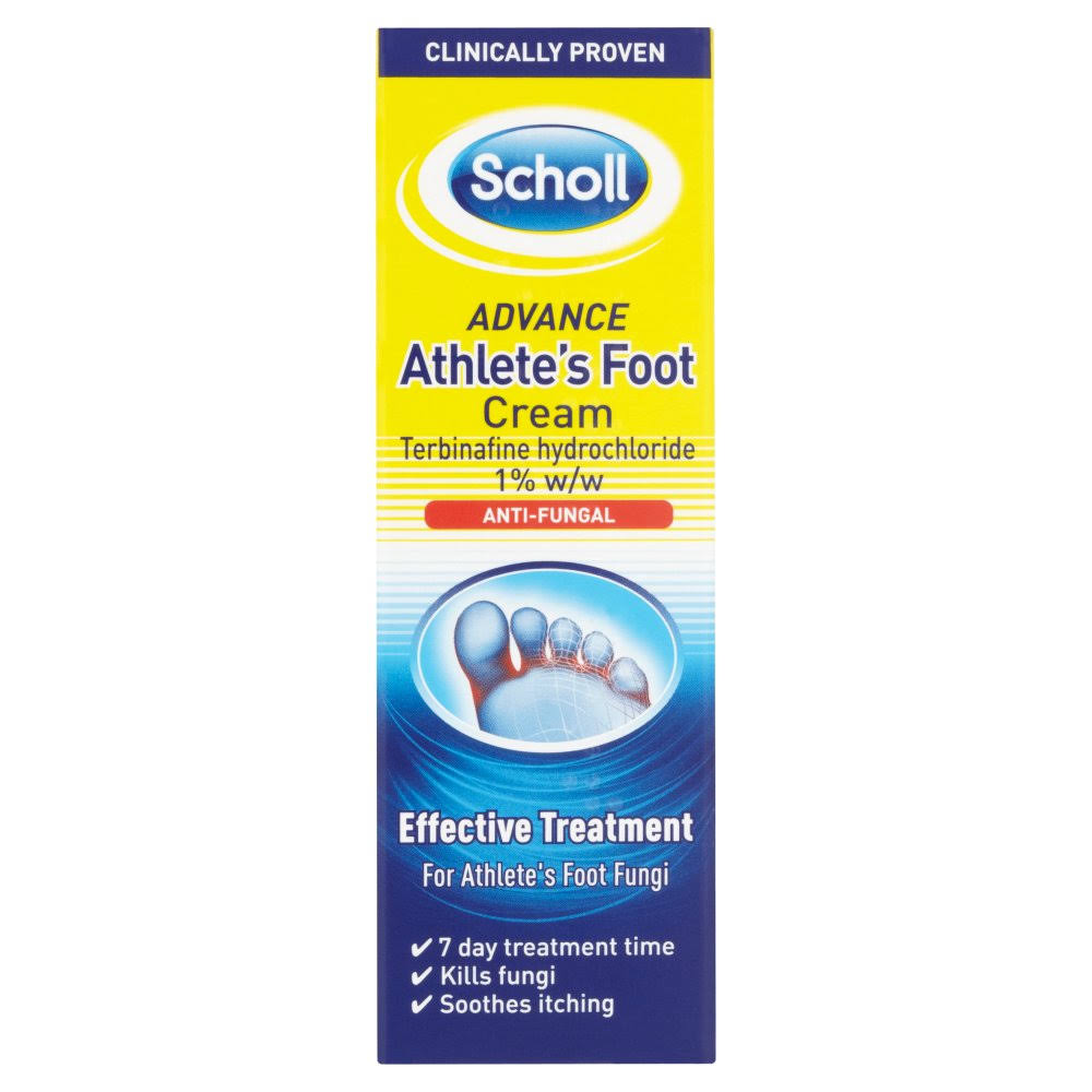 Scholl Advanced Athletes Foot Cream - 15g