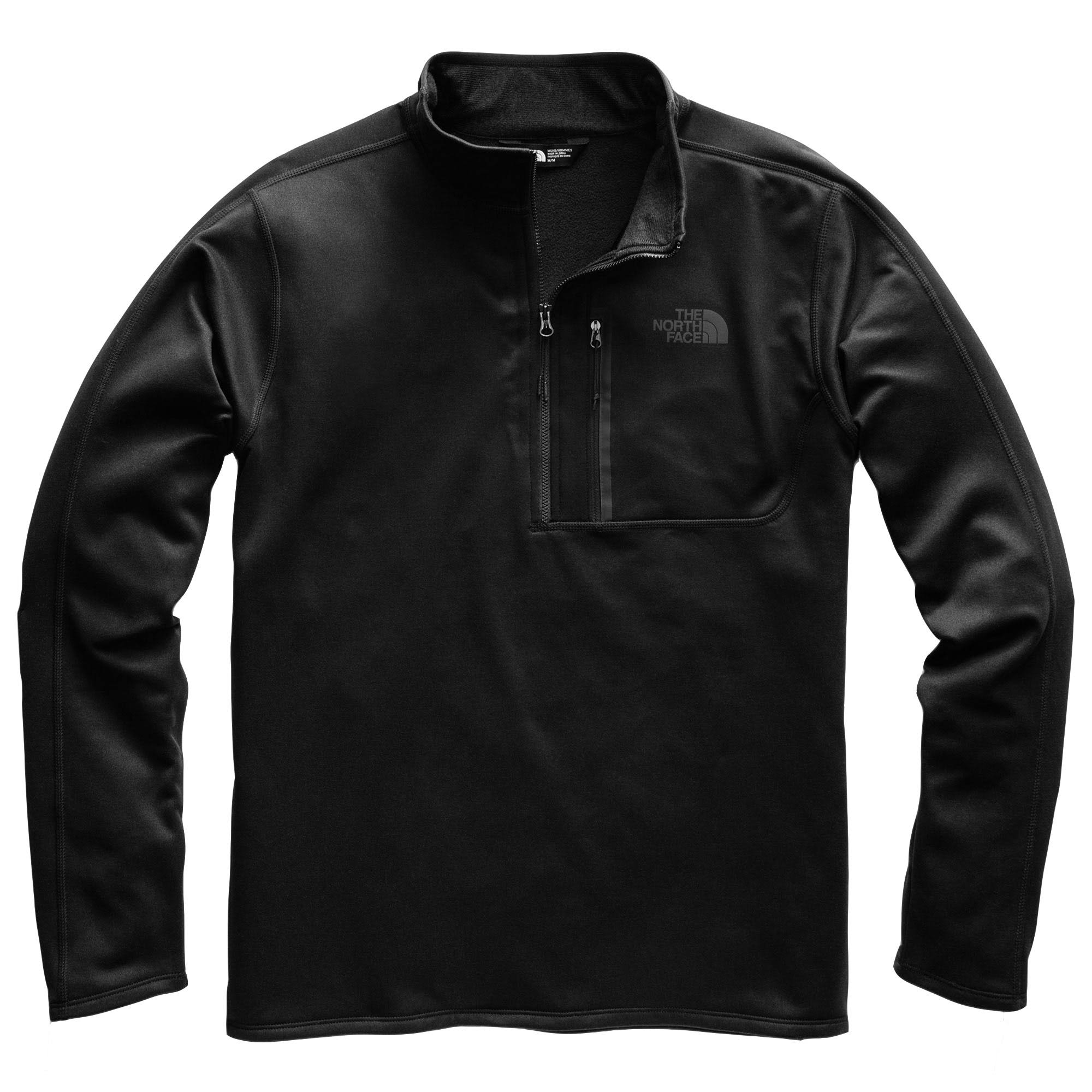 The North Face Canyonlands 1/2 Zip - Men's TNF Black / L