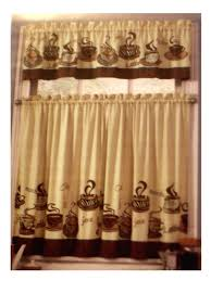 Apple Kitchen Decor Sets by Coffee Themed Kitchen Curtains Tiers Valance Set Complete Curtains