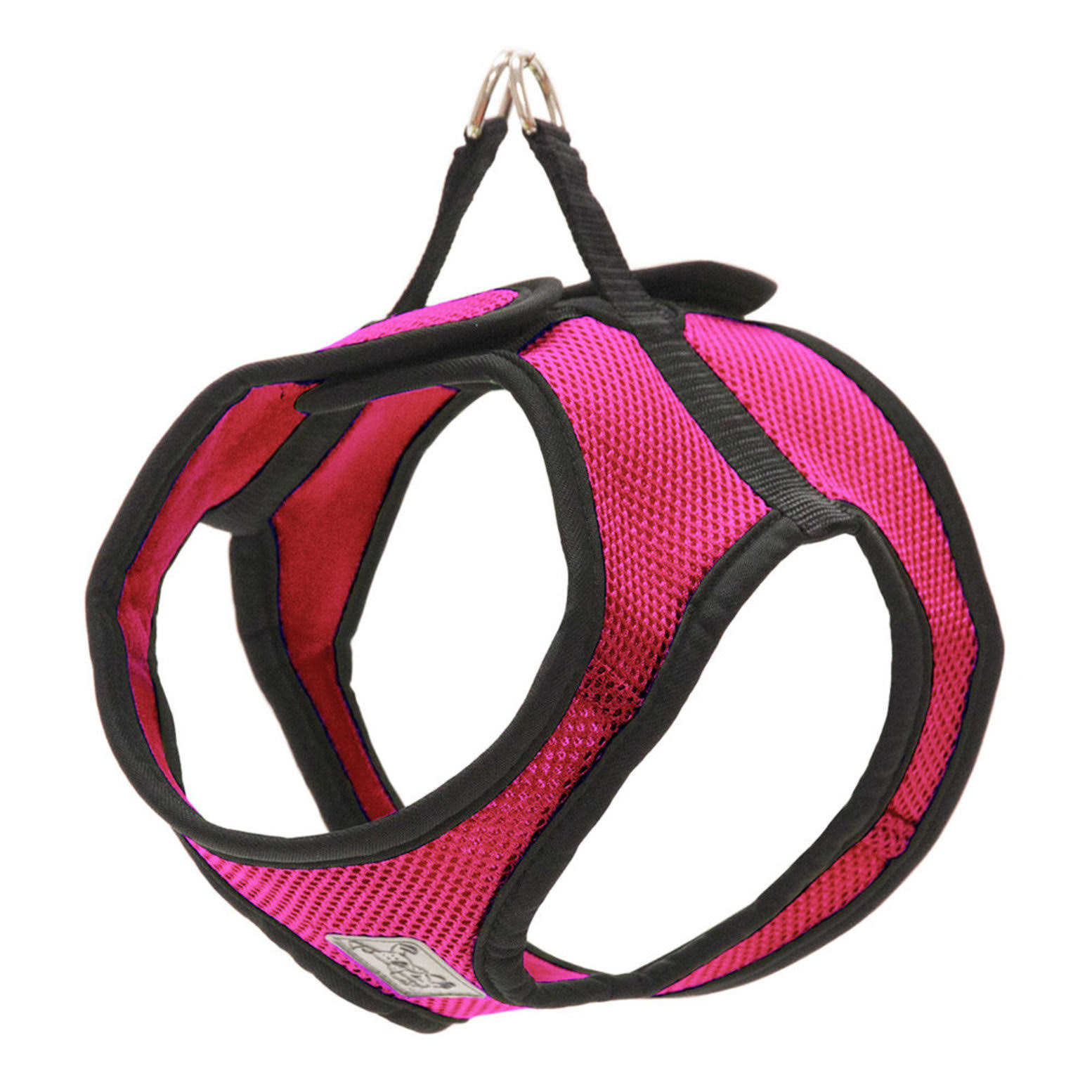 RC Pet Products Step in Cirque Soft Walking Dog Harness - Raspberry, Large