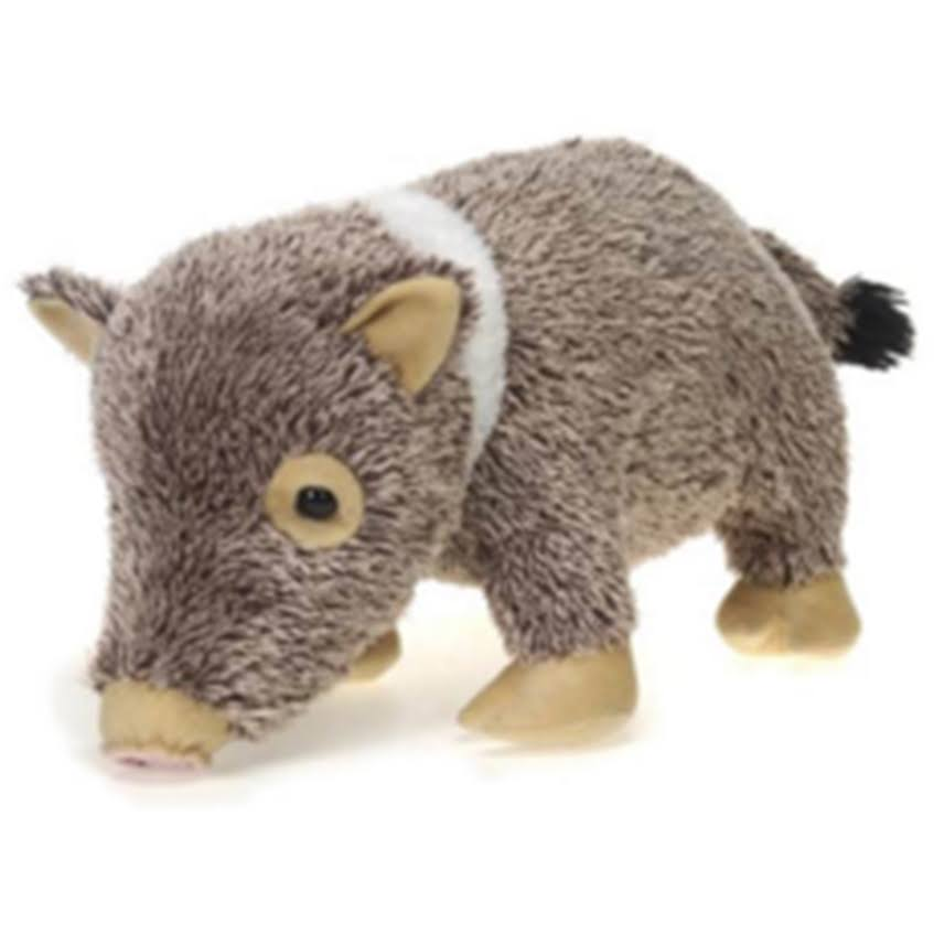 Standing Javelina Plush Stuffed Animal Toy by Fiesta Toys - 16""