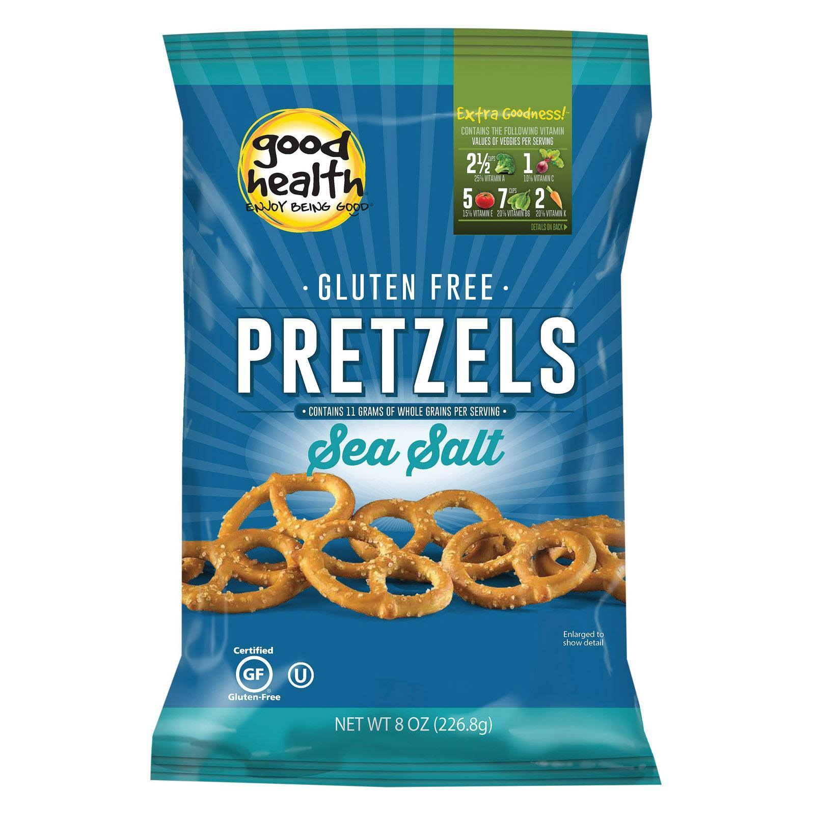 Good Health Gluten Free Pretzels - Sea Salt, 8oz