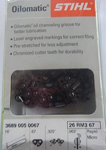 STIHL Oilmatic Chain Saw Replacement Chain - 16""