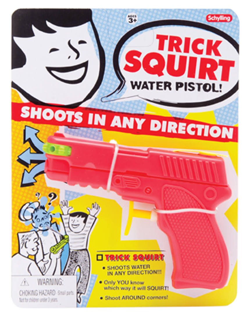 Schylling Jokes - Trick Squirt Water Pistol