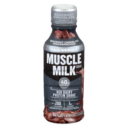 Muscle Milk Pro Series Protein Shakes - Chocolate, 14oz